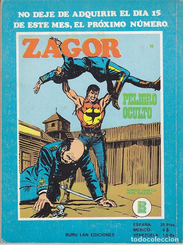Cómics: COMIC ZAGOR Nº 13 - Foto 2 - 39327605