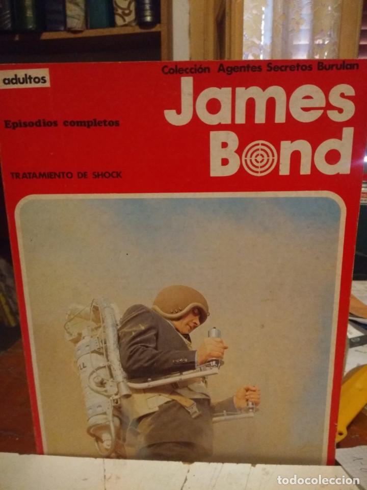 COMIC JAMES BOND : TRATAMIENTO DE SHOCK ( COLECCION AGENTES SECRETOS BURULAN ) (Tebeos y Comics - Buru-Lan - James Bond)