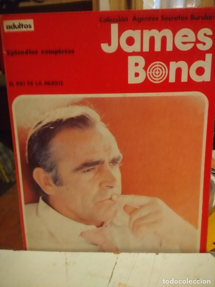 COMIC JAMES BOND : EL RIO DE LA MUERTE + LA ESTRELLA DE FUEGO ( COLECCION AGENTES SECRETOS BURULAN ) (Tebeos y Comics - Buru-Lan - James Bond)