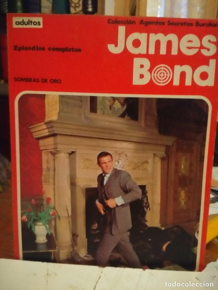 COMIC JAMES BOND : SOMBRAS DE ORO +JUEGO PELIGROSO ( COLECCION AGENTES SECRETOS BURULAN ) (Tebeos y Comics - Buru-Lan - James Bond)
