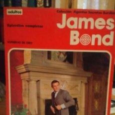 Cómics: COMIC JAMES BOND : SOMBRAS DE ORO +JUEGO PELIGROSO ( COLECCION AGENTES SECRETOS BURULAN ). Lote 170111156