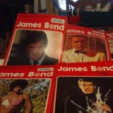 Cómics: 4 FASCICULOS DEL COMIC JAMES BOND COLECCION AGENTES SECRETOS BURULAN ). Lote 170111588