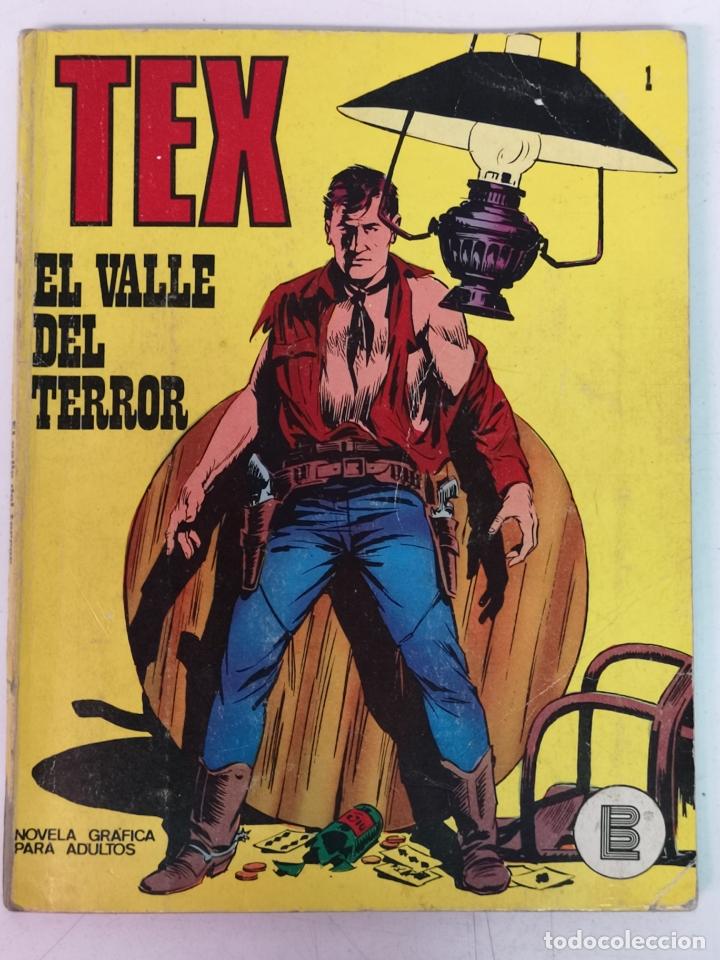 TEX BURULAN.N° 1 (Tebeos y Comics - Buru-Lan - Tex)