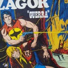 Cómics: ZAGOR N° 62 - GUERRA - BURU LAN - BURULAN 1973. Lote 170856414