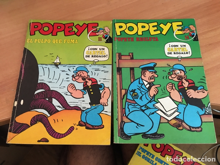 Cómics: POPEYE LOTE Nº 2 3 4 5 6 7 8 9 11 14 15 Y 21 (BURULAN) (COIB7) - Foto 4 - 171062545