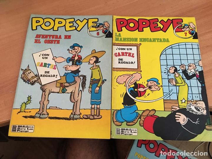 Cómics: POPEYE LOTE Nº 2 3 4 5 6 7 8 9 11 14 15 Y 21 (BURULAN) (COIB7) - Foto 6 - 171062545