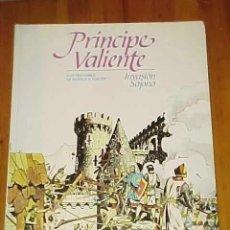 Cómics: PRINCIPE VALIENTE. INVASION SAJONA. ILUSTRACIONES DE HAROLD R. FOSTER. BURULAN. 1983.. Lote 171110880