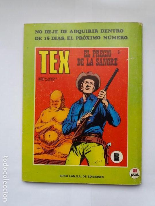 Cómics: TEX. Nº 2. EL SICARIO. BURU LAN. 1971 - Foto 2 - 171133372