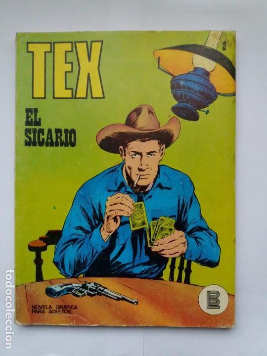 TEX. Nº 2. EL SICARIO. BURU LAN. 1971 (Tebeos y Comics - Buru-Lan - Tex)