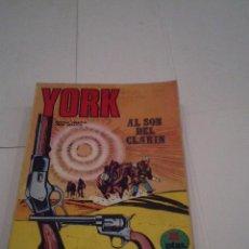 Cómics: YORK - BURU LAN - COLECCION COMPLETA - 6 NUMEROS - BUEN ESTADO - GORBAUD. Lote 171266100