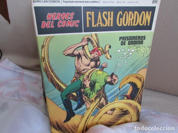 Cómics: GRAN LOTE COLECCIÓN FLASH GORDON Heroes - Foto 3 - 171308832