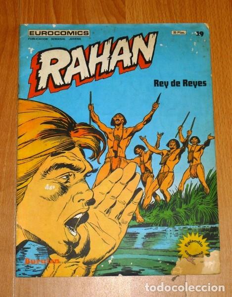 RAHAN. TOMO 2 ; FASCÍCULO 19 : REY DE REYES (EUROCOMICS) (Tebeos y Comics - Buru-Lan - Rahan)