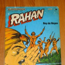 Cómics: RAHAN. TOMO 2 ; FASCÍCULO 19 : REY DE REYES (EUROCOMICS). Lote 171492089