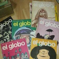 Cómics: LOTE DE REVISTA SOBRE COMICS EL GLOBO. Lote 171756407