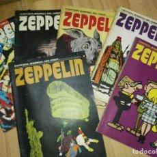 Cómics: LOTE REVISTAS ZEPPELIN BURU LAN. Lote 171757557