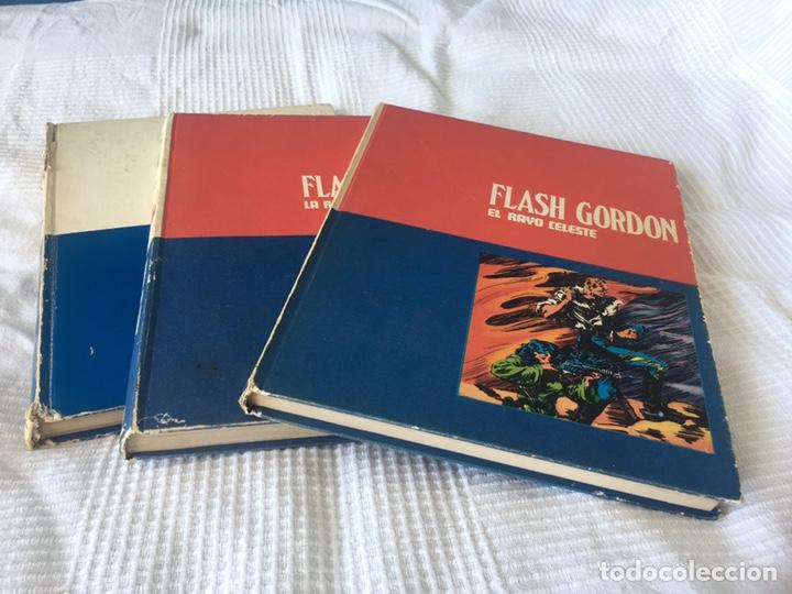 TRES TOMOS FLASH GORDON HÉROES DEL CÓMIC BURU LAN. (Tebeos y Comics - Buru-Lan - Flash Gordon)