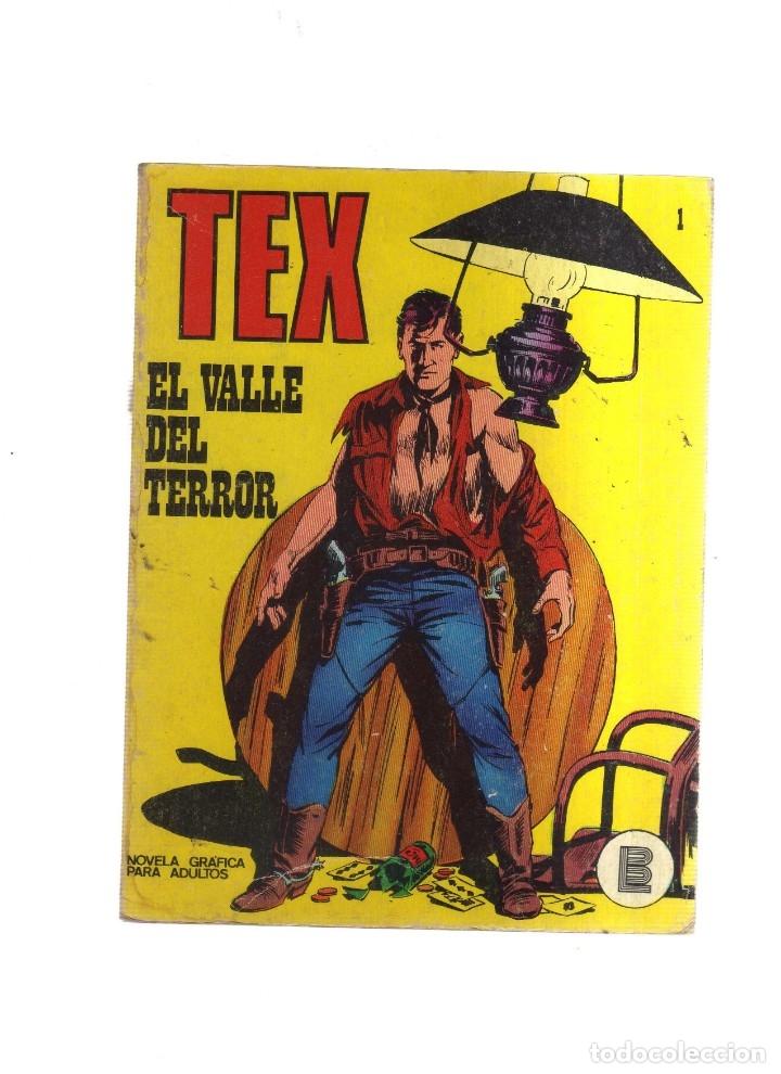 TEX EL VALLE DEL TERROR N,1 (Tebeos y Comics - Buru-Lan - Tex)