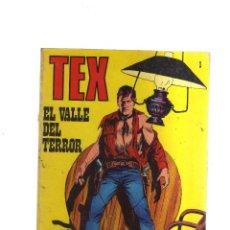 Cómics: TEX EL VALLE DEL TERROR N,1. Lote 172290462