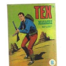 Cómics: TEX MASACRE N,24. Lote 172292520