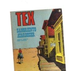 Cómics: TEX SANGRIENTO ATARDECER N,29. Lote 172292909