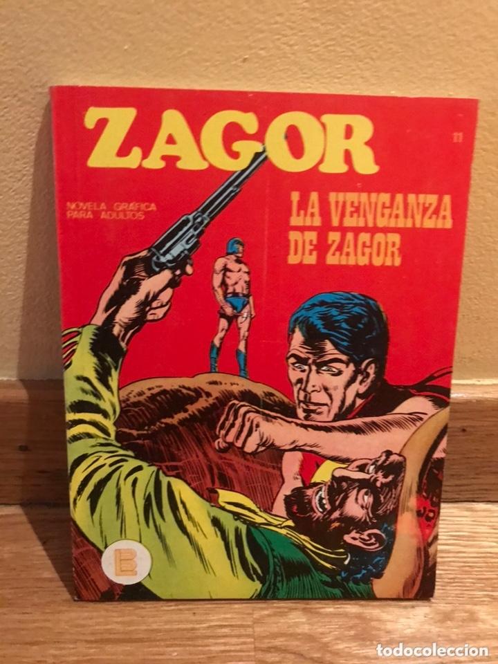 ZAGOR LA VÉNGANZA DE ZAGOR NÚMERO 11 (Tebeos y Comics - Buru-Lan - Zagor)
