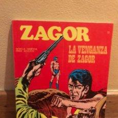 Cómics: ZAGOR LA VÉNGANZA DE ZAGOR NÚMERO 11. Lote 234375405