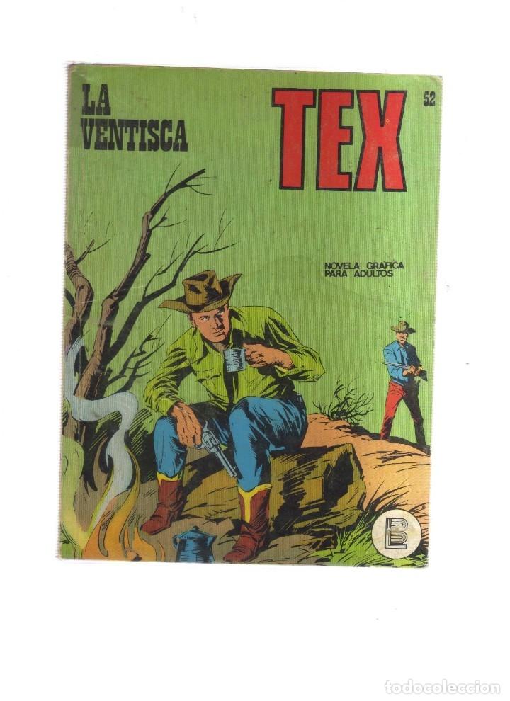 TEX LA VENTISCA N,52 (Tebeos y Comics - Buru-Lan - Tex)