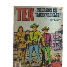 Fumetti: TEX INCURCION EN SAVANNAH CLUB N,56. Lote 172471804