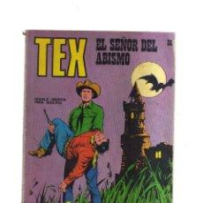 Comics : TEX EL SEÑOR DEL ABISMO N,58. Lote 172472034