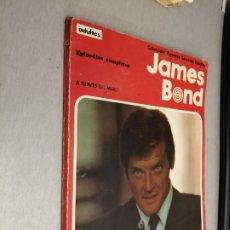 Cómics: JAMES BOND, A TRAVÉS DEL MURO / COLECCIÓN AGENTES SECRETOS / BURULÁN 1974. Lote 172685739