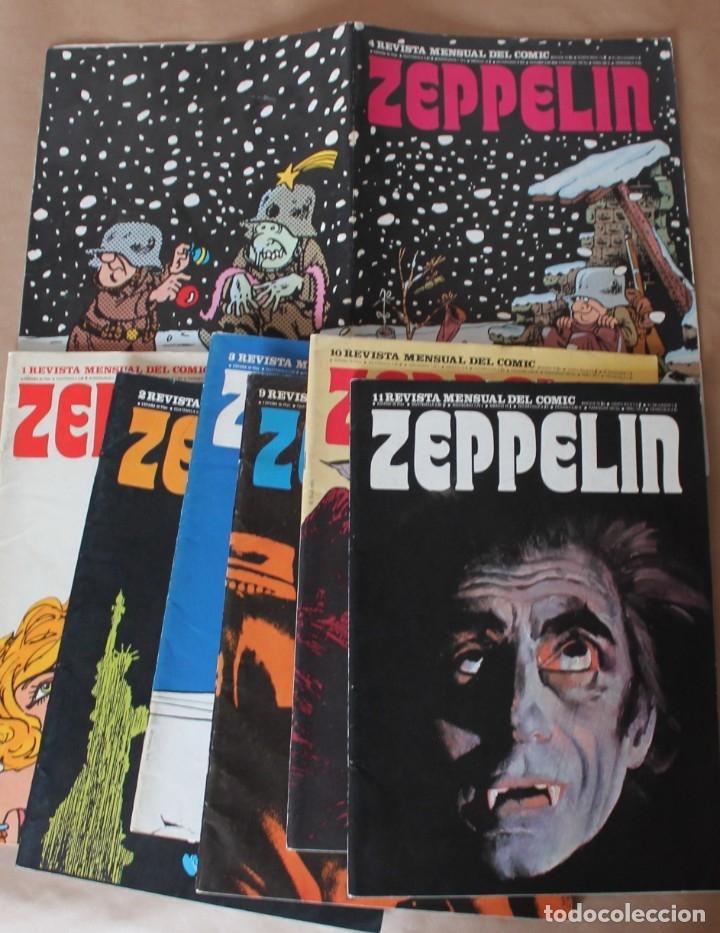 ZEPPELIN 1 2 3 4 9 10 11 - BURU LAN 1973 - MUY BUEN ESTADO - TAMBIÉN SUELTOS - BURULAN (Tebeos y Comics - Buru-Lan - Otros)