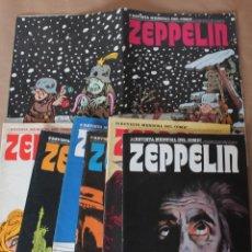 Cómics: ZEPPELIN 1 2 3 4 9 10 11 - BURU LAN 1973 - MUY BUEN ESTADO - TAMBIÉN SUELTOS - BURULAN. Lote 86898322
