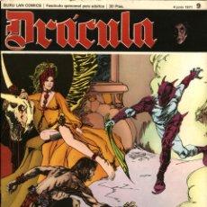 Cómics: DRÁCULA-9 (BURU LAN, 1971) CON ESTEBAN MAROTO, JOSEP M. BEÁ, ALBERTO SOLSONA Y ENRIC SIÓ. Lote 173553698