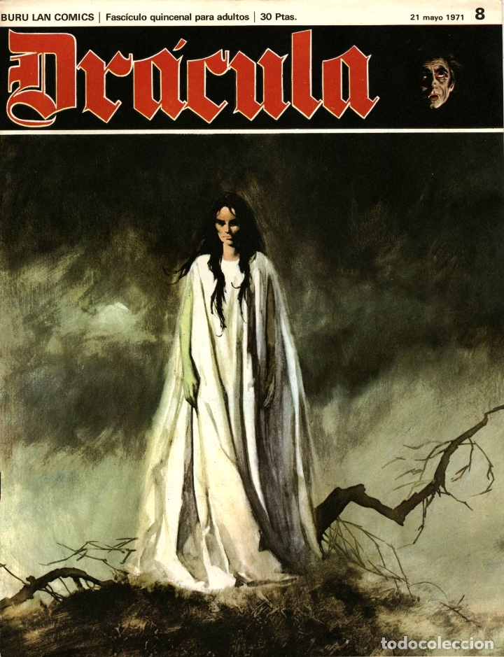 DRÁCULA-8 (BURU LAN, 1971) CON ESTEBAN MAROTO, JOSEP M. BEÁ, ALBERTO SOLSONA Y ENRIC SIÓ (Tebeos y Comics - Buru-Lan - Drácula)