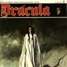 Cómics: DRÁCULA-8 (BURU LAN, 1971) CON ESTEBAN MAROTO, JOSEP M. BEÁ, ALBERTO SOLSONA Y ENRIC SIÓ. Lote 173553789