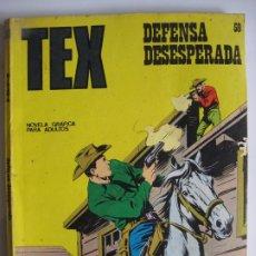Cómics: TEX Nº59 - DEFENSA DESESPERADA, BURU LAN EDICIONES. Lote 173567440