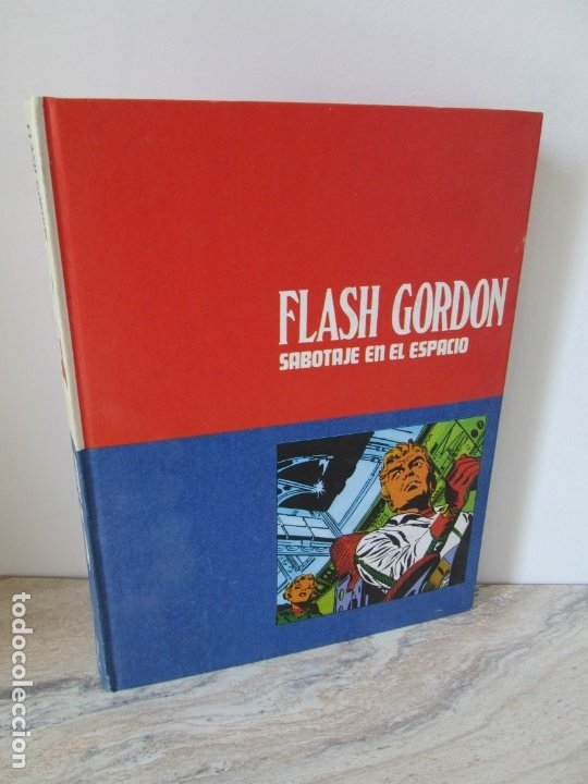 FLASH GORDON. TOMO 8. SABOTAJE EN EL ESPACIO. EDICION BURU LAN. 1973. VER FOTOGRAFIAS ADJUNTAS (Tebeos y Comics - Buru-Lan - Flash Gordon)