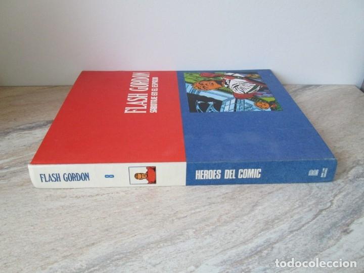 Cómics: FLASH GORDON. TOMO 8. SABOTAJE EN EL ESPACIO. EDICION BURU LAN. 1973. VER FOTOGRAFIAS ADJUNTAS - Foto 2 - 173649598