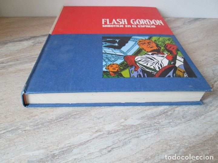 Cómics: FLASH GORDON. TOMO 8. SABOTAJE EN EL ESPACIO. EDICION BURU LAN. 1973. VER FOTOGRAFIAS ADJUNTAS - Foto 3 - 173649598