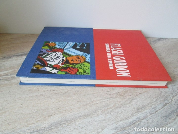 Cómics: FLASH GORDON. TOMO 8. SABOTAJE EN EL ESPACIO. EDICION BURU LAN. 1973. VER FOTOGRAFIAS ADJUNTAS - Foto 4 - 173649598