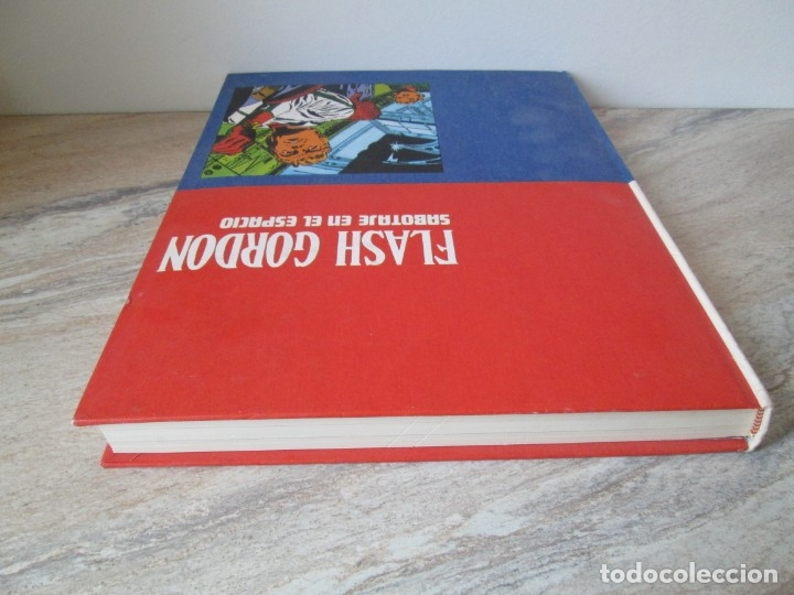 Cómics: FLASH GORDON. TOMO 8. SABOTAJE EN EL ESPACIO. EDICION BURU LAN. 1973. VER FOTOGRAFIAS ADJUNTAS - Foto 5 - 173649598