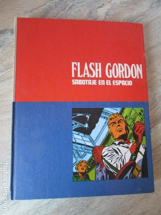 Cómics: FLASH GORDON. TOMO 8. SABOTAJE EN EL ESPACIO. EDICION BURU LAN. 1973. VER FOTOGRAFIAS ADJUNTAS - Foto 6 - 173649598