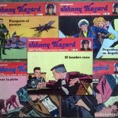 Cómics: JOHNNY HAZARD. Nº 1, 2, 3, 8 Y 10. BURULAN COMICS 1973. Lote 173874149
