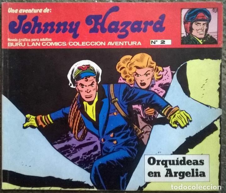 Cómics: Johnny Hazard. Nº 1, 2, 3, 8 y 10. Burulan Comics 1973 - Foto 3 - 173874149