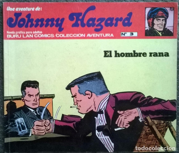 Cómics: Johnny Hazard. Nº 1, 2, 3, 8 y 10. Burulan Comics 1973 - Foto 4 - 173874149