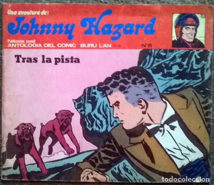 Cómics: Johnny Hazard. Nº 1, 2, 3, 8 y 10. Burulan Comics 1973 - Foto 5 - 173874149