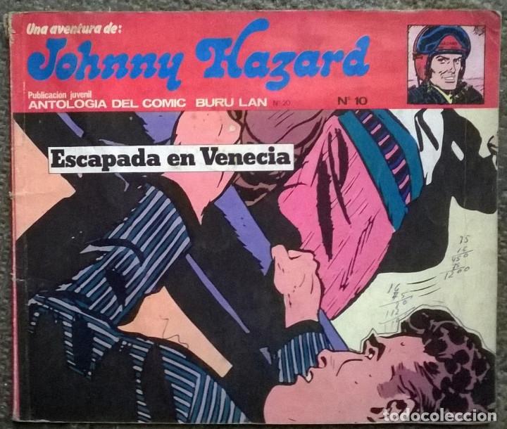 Cómics: Johnny Hazard. Nº 1, 2, 3, 8 y 10. Burulan Comics 1973 - Foto 6 - 173874149