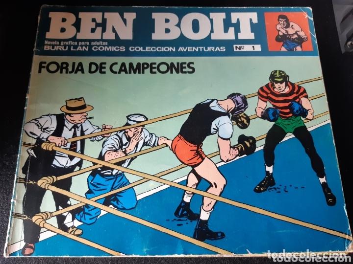 TEBEOS-CÓMICS CANDY - BEN BOLT 1 3 6 7 - BURULAN - AA98 (Tebeos y Comics - Buru-Lan - Otros)