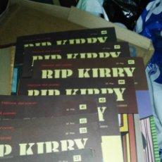 Cómics: LOTE DE NÚMEROS SUELTOS RIP KIRBY DE BURU LAN. Lote 174257908
