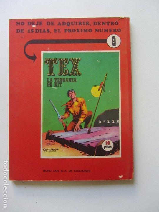 Cómics: TEX nº 8 · 1971 · EL CAMPAMENTO DE RAWATHO BURU LAN Cs188 - Foto 2 - 174441284